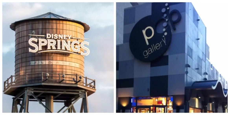 POP Gallery at Disney Springs will be closing its doors