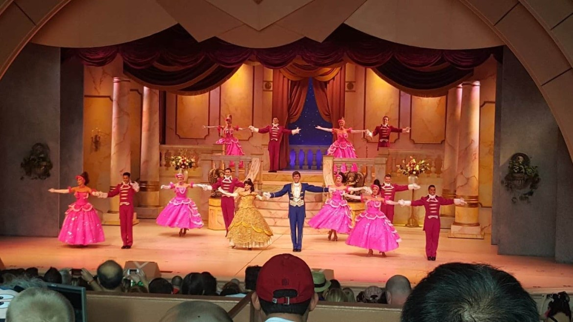 Changes to Disney World Stage shows