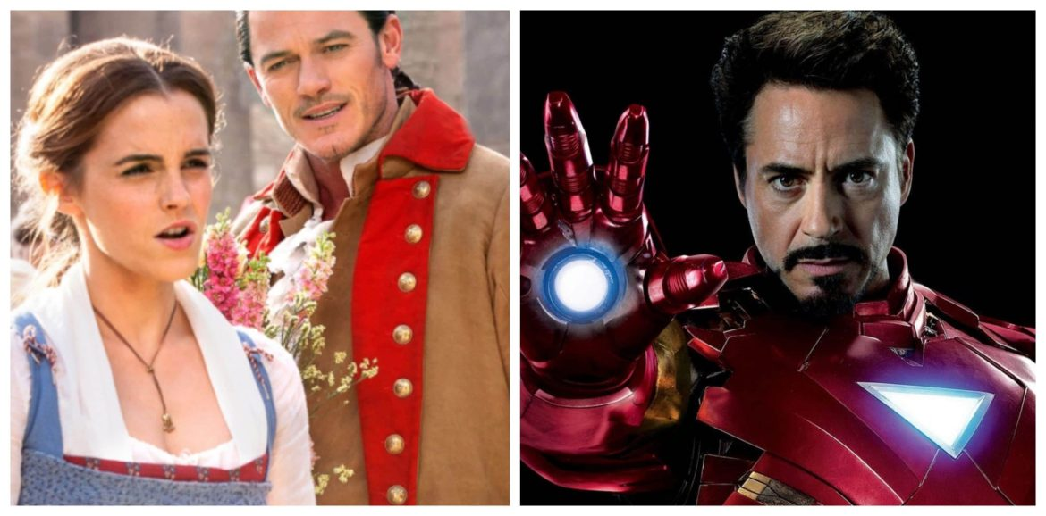 Beauty & the Beast & Iron Man top box office this past weekend!