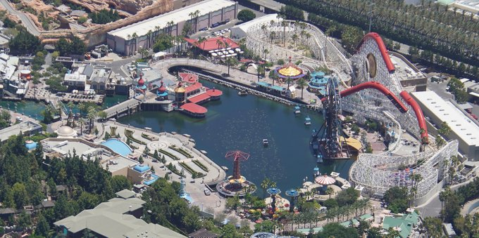 PHOTOS: Aerial View of Disneyland and Construction Updates
