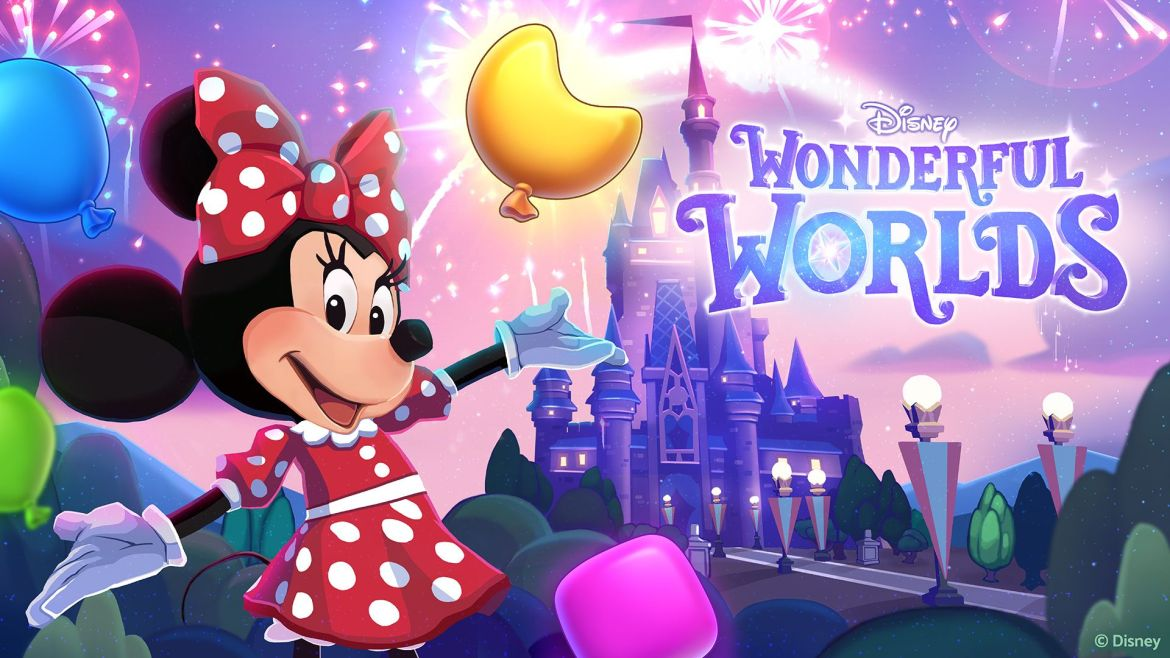 Coming soon an all new puzzle game for Disney fans… Disney Wonderful Worlds!