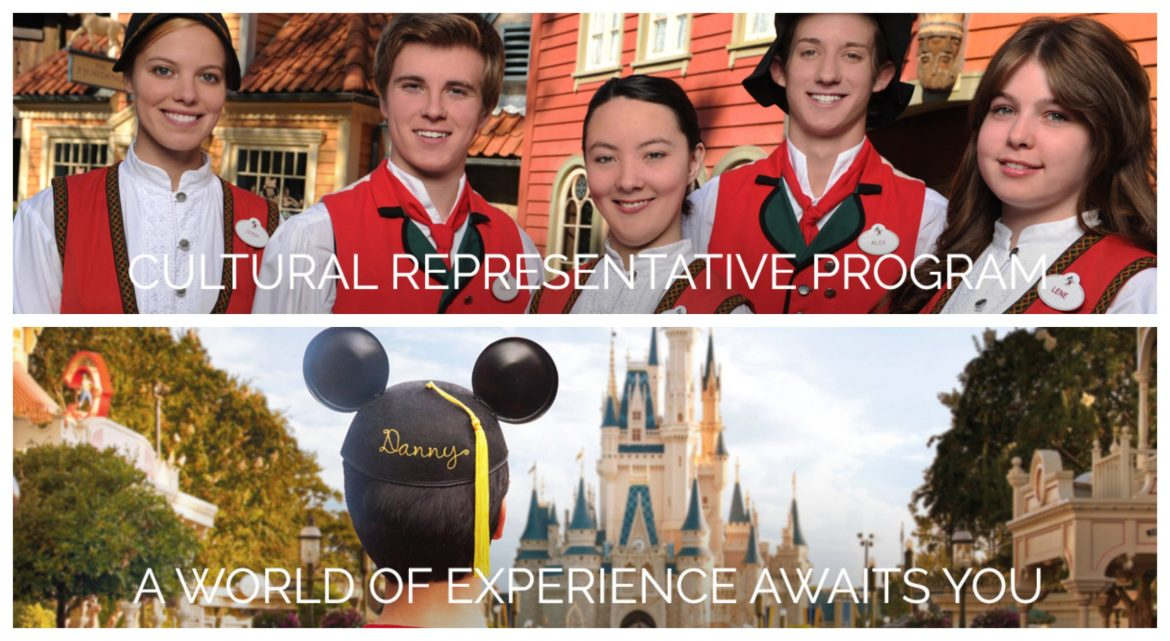 Walt Disney World has fully suspended the Cultural Representative Program