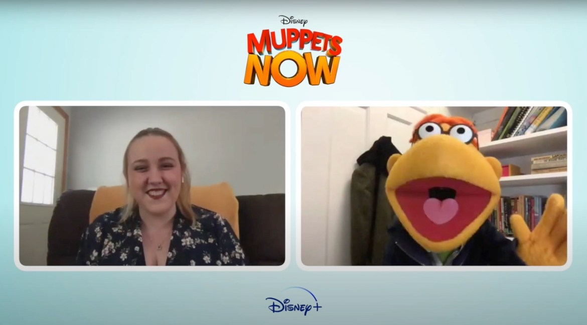 Chip and Co. Interview with Scooter from 'Muppets Now'