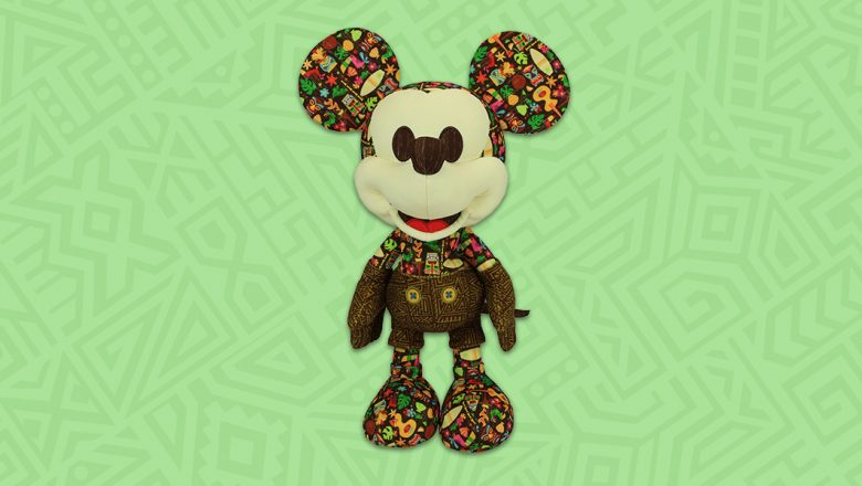 Tiki Mickey Mouse Plush Hulas In For July Release