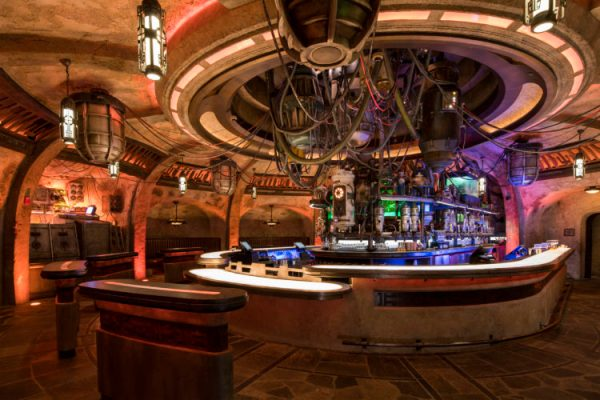 Oga's Cantina in Star Wars: Galaxy's Edge