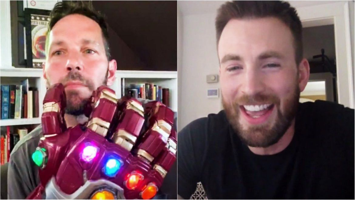 Marvel Actors Chris Evans and Paul Rudd Interview Each Other for Actor on Actors