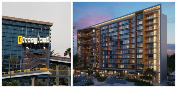 First look at the Disney Vacation Club Tower Coming to Disneyland Hotel 1