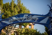 Temperature Tents Being Installed for Downtown Disney Reopening