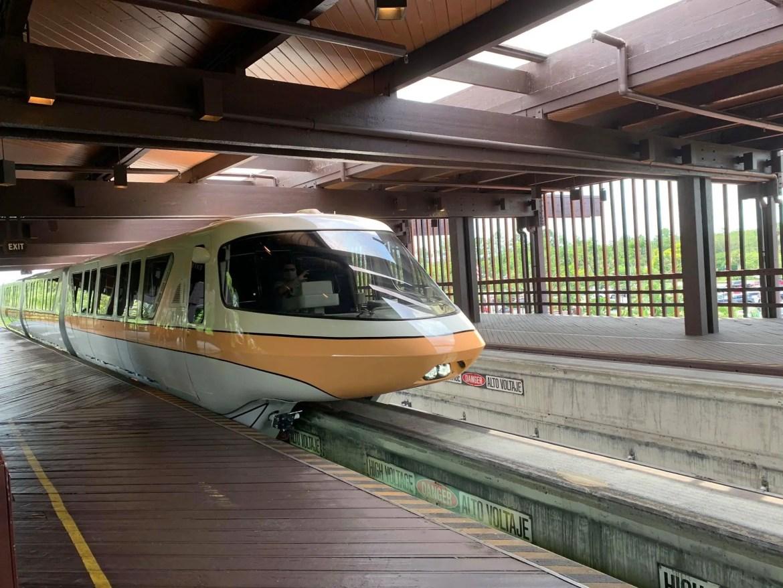 Disney's Polynesian Resort Monorail Station Closed Till Summer Of 2021