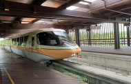 New Monorail Peach Debuts At Walt Disney World!