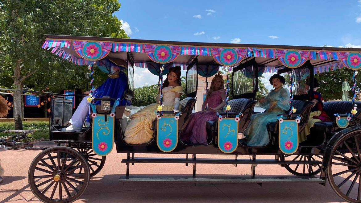 Make way for the Disney Princess Cavalcade