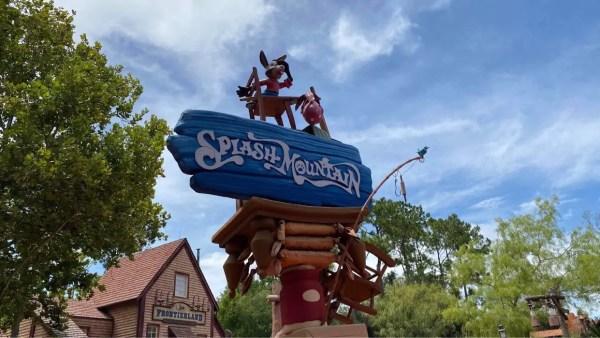 Social Distancing Measures for Splash Mountain at Magic Kingdom