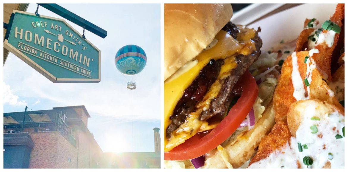 Say Hello to the Art Burger at Homecomin' in Disney Springs