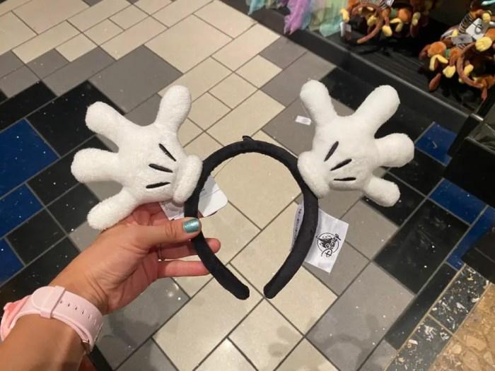 Mickey Gloves Headband