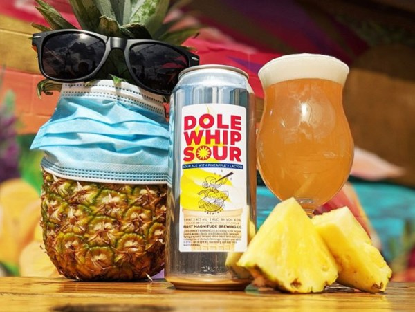 Dole Whip beer is now available!