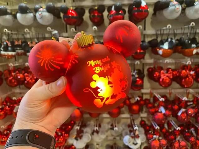 Light-up Mickey Ornament