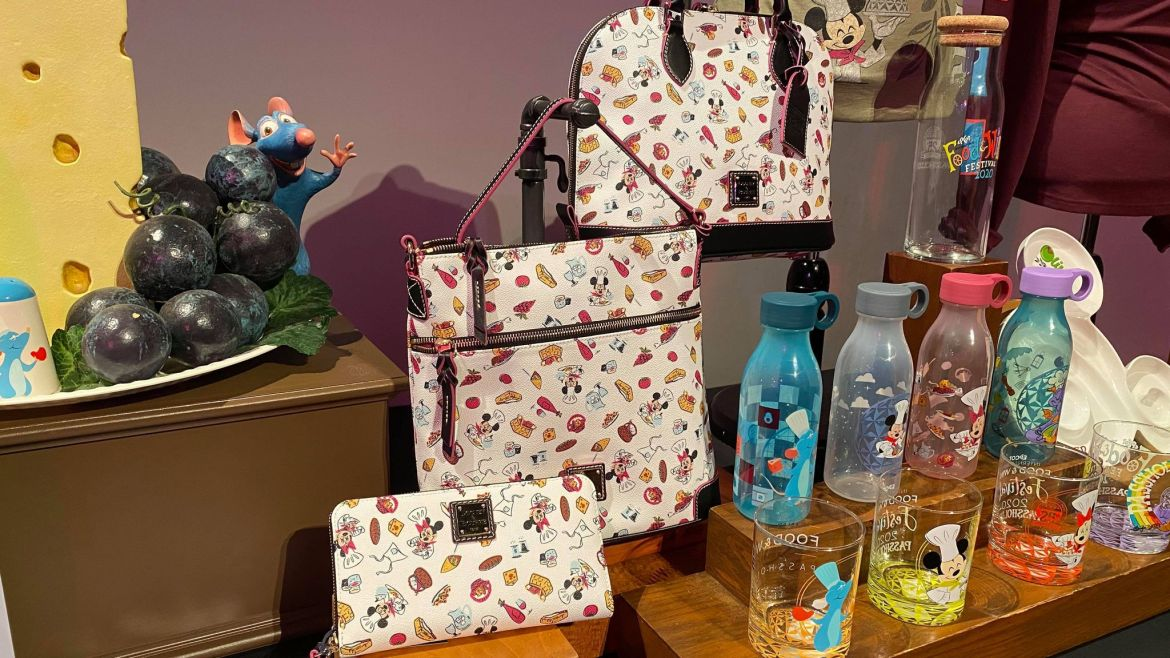 New Epcot Food and Wine Dooney And Bourke Collection