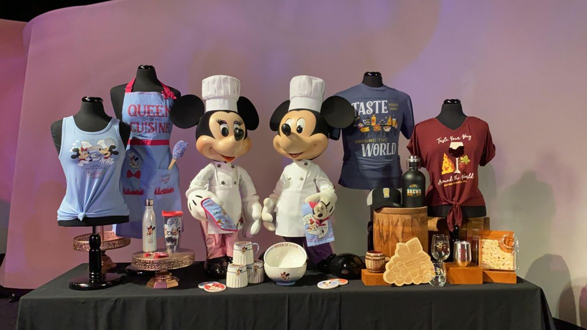 First Look At Epcot Food And Wine 2020 Merchandise