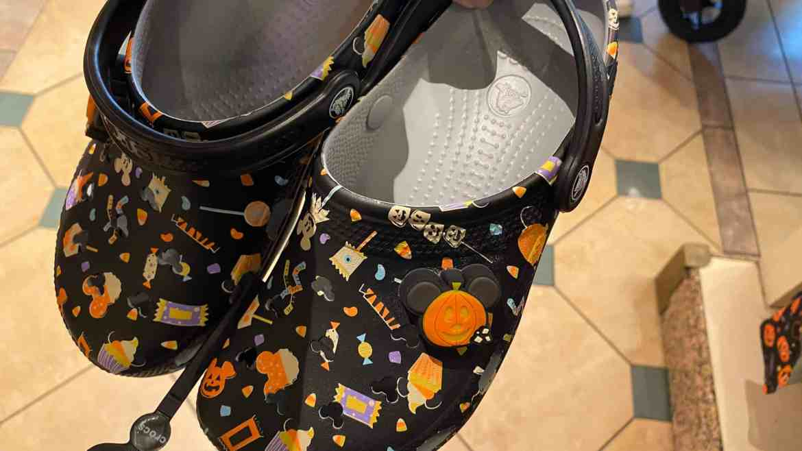 These Halloween Disney Snack Crocs are Cute Enough to Eat