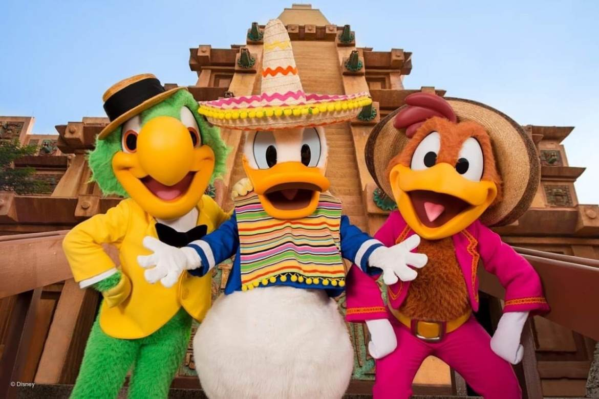 Jose returns to the Gran Fiesta Tour in Epcot