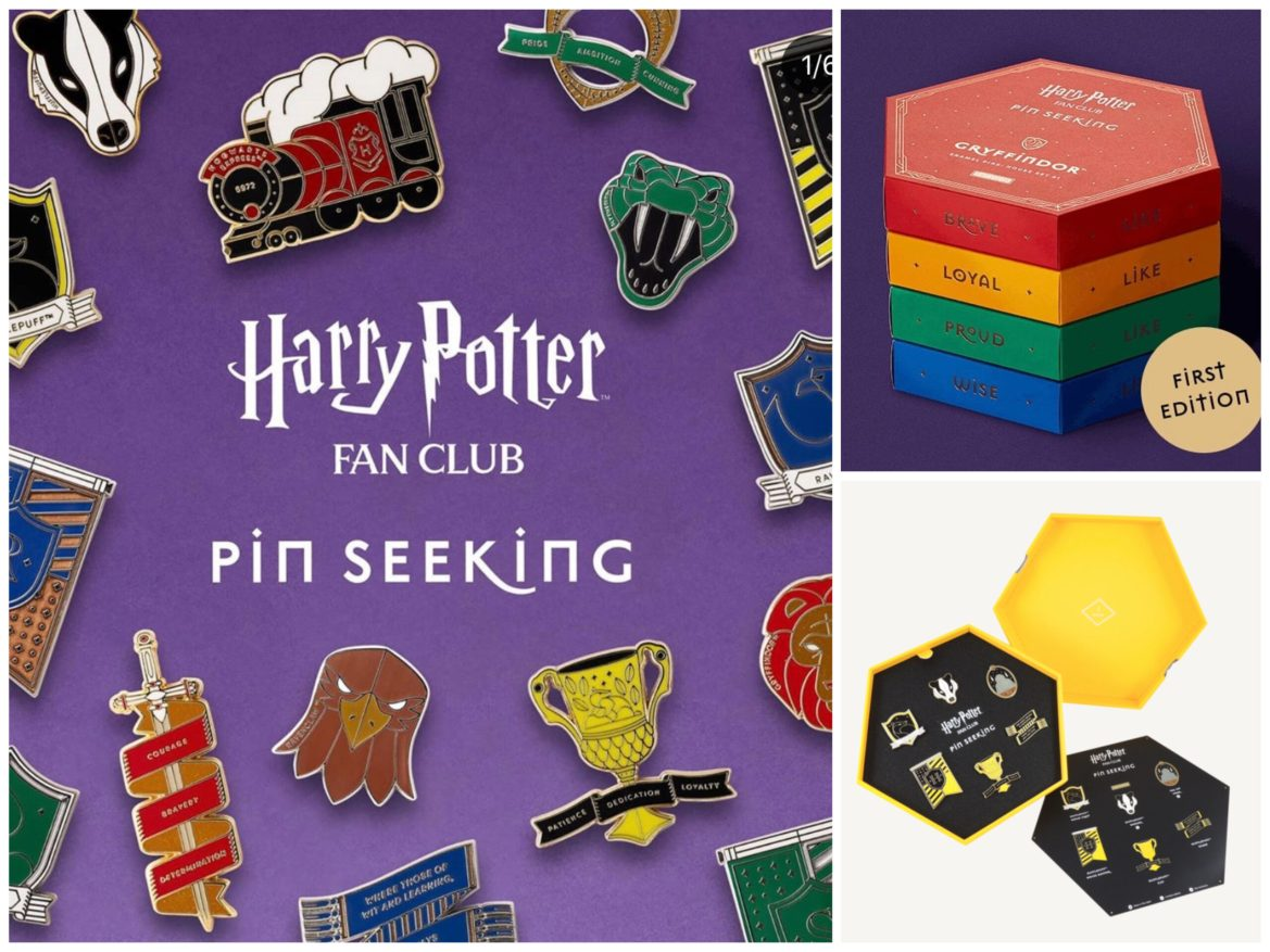 Wizarding World Debuts New Harry Potter Pin Seeking Collection