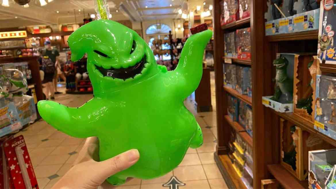 New Spooky Oogie Boogie Sipper appearing in the Magic Kingdom