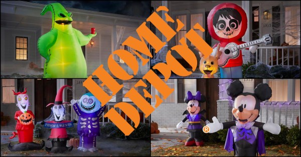 Home Depot is Featuring a New Line of Disney Inflatables Just in Time for Halloween 1