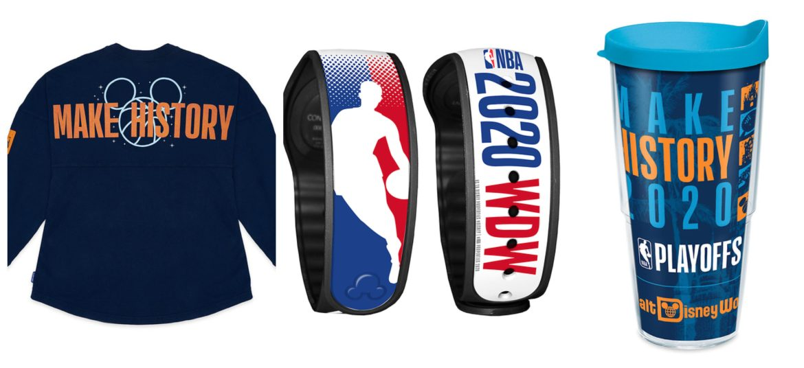 Disney Partners with NBA on new collection of Merch for NBA Playoffs