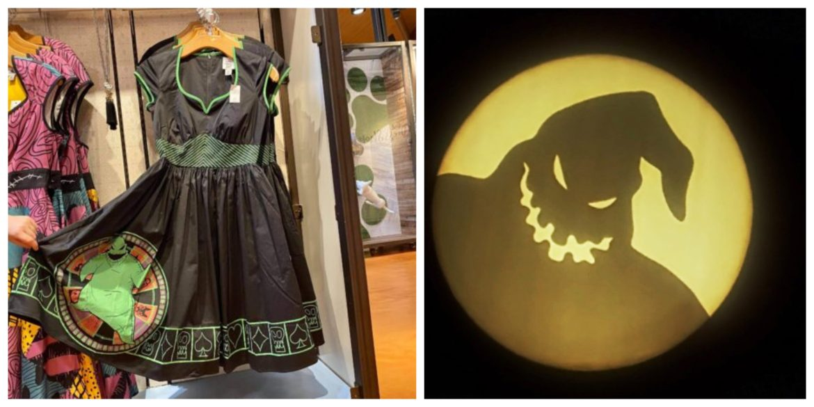 Scare up some fun with this all new Oogie Boogie Dress from Disney World