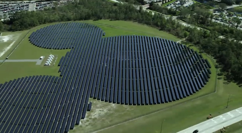 Disney World To Develop Two New Solar Facilities