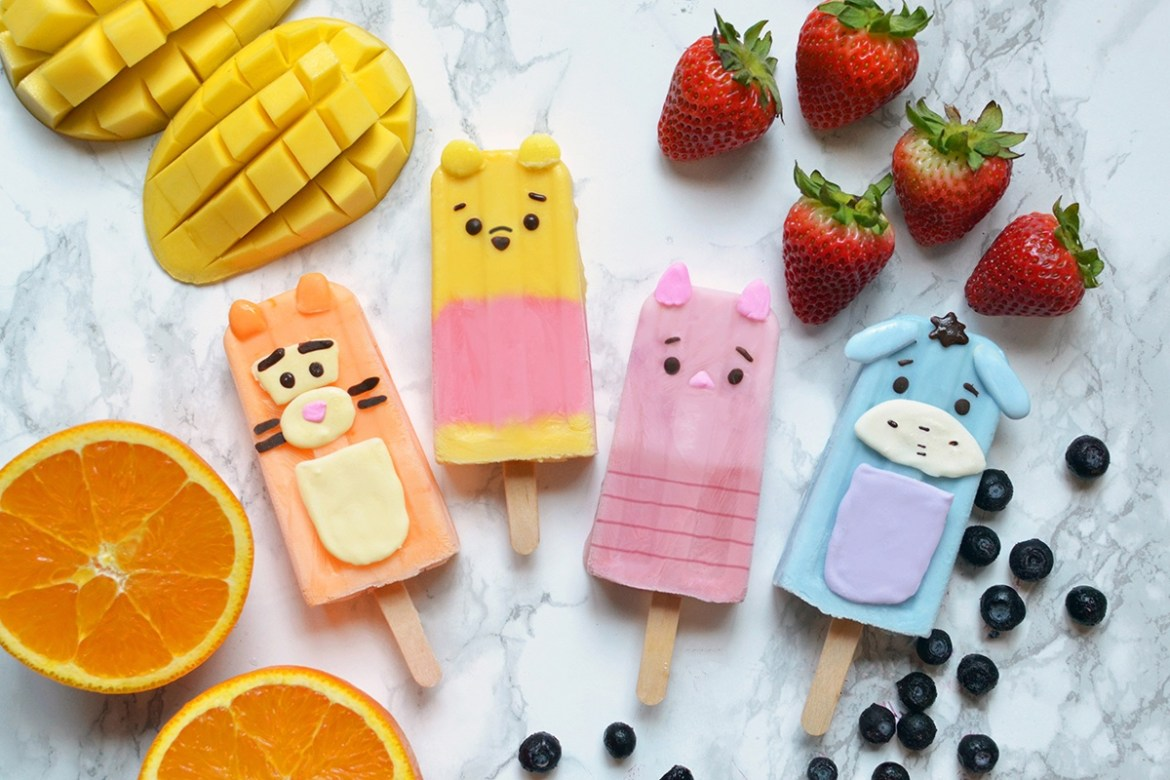 Try These Winnie The Pooh Popsicles At Home!