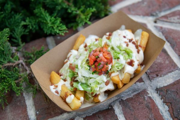 New Fries & Slushy at the The Daily Poutine in Disney Springs
