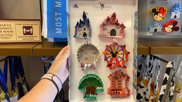 Disney Parks Cookie Cutters