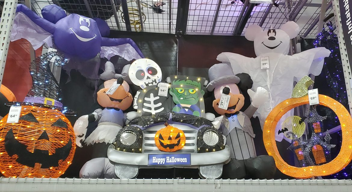 New Disney Halloween Decor Has Arrived at Lowe's!