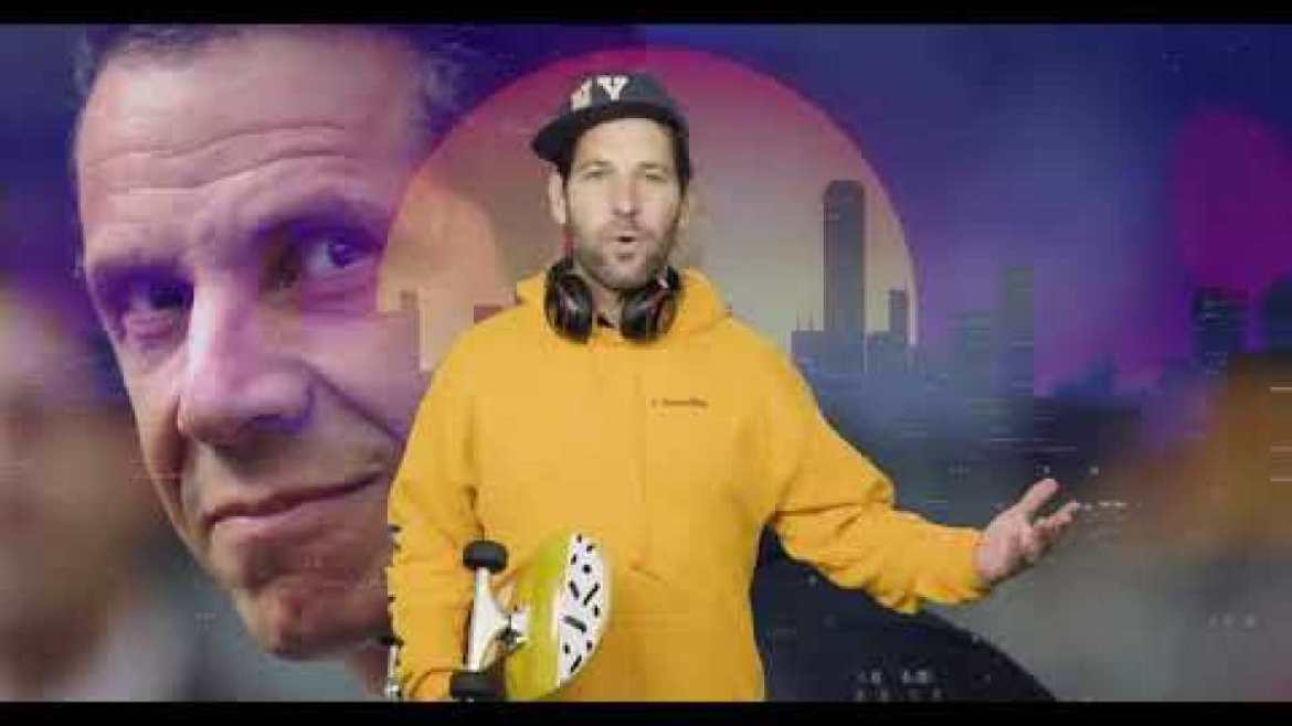"""""""Certified Young Person"""" Paul Rudd Makes """"Wear a Mask"""" PSA"""