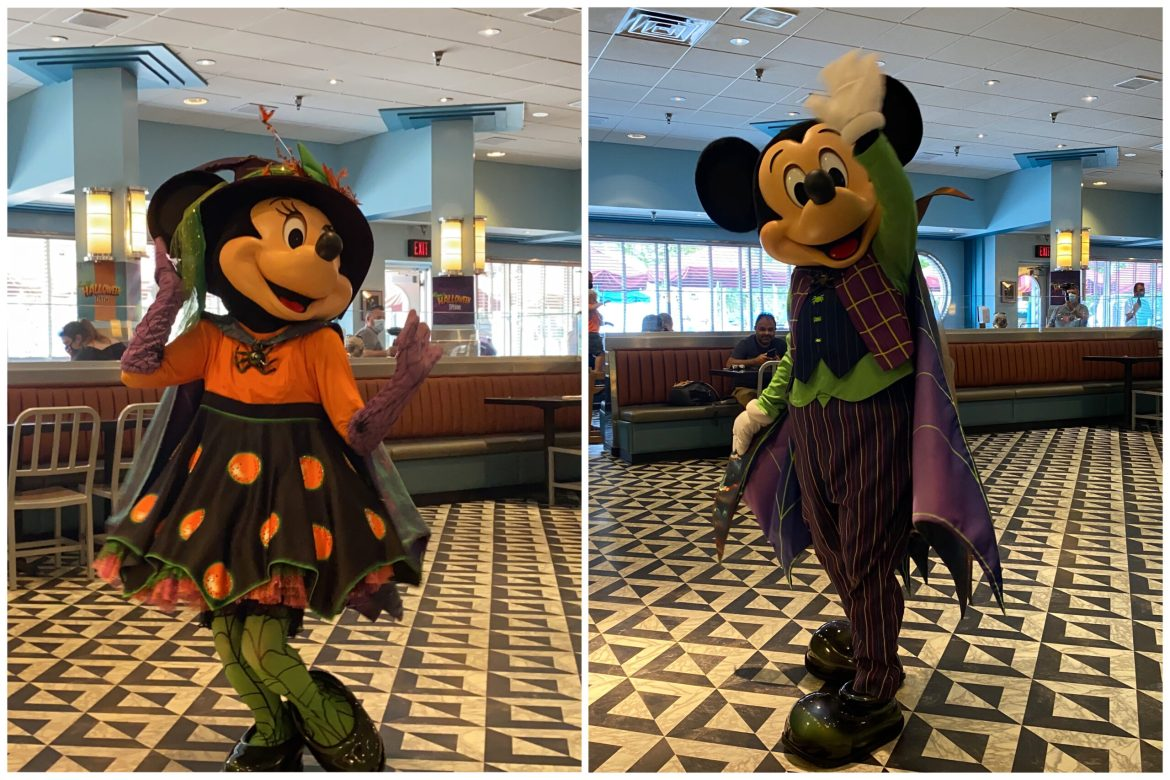 Celebrate Halloween With Minnie At Hollywood & Vine