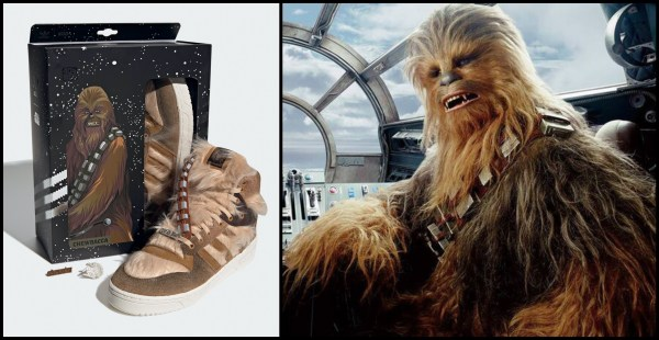 Adidas and Star Wars Announce Limited-Edition Chewbacca Sneakers 1