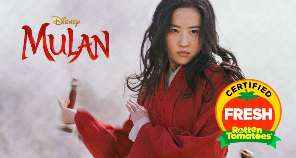 Disney's Live-Action 'Mulan' Receives Fresh Rating on Rotten Tomatoes