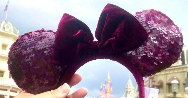 New Sangria Minnie Ears Have Arrived For The Autumn Season 1