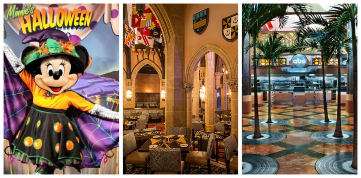 More Disney World Restaurants reopening in time for Fall