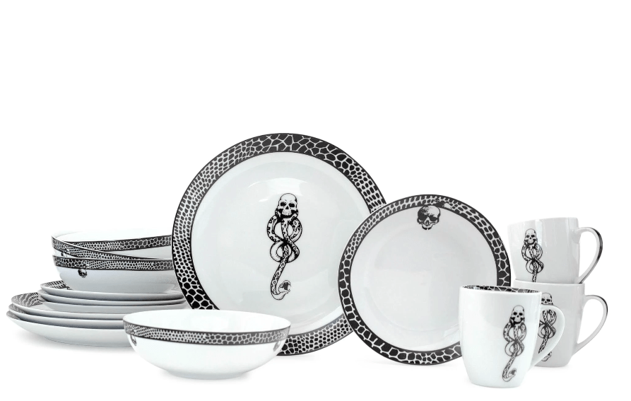 Harry Potter Death Eater Dishes Are Fit For A Dark Wizard