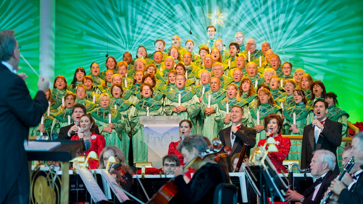 Epcot's Candlelight Processional has been Canceled for 2020
