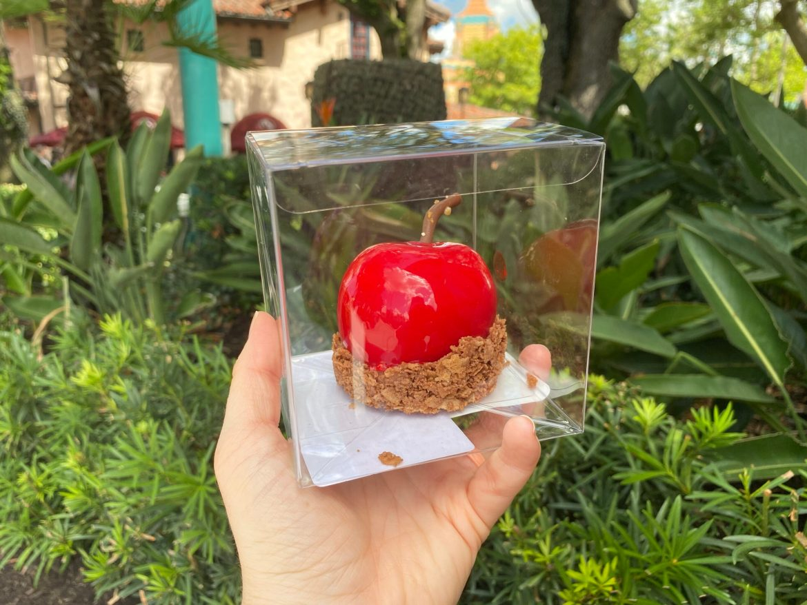 Take A Bite Out Of The Poison Candied Apple