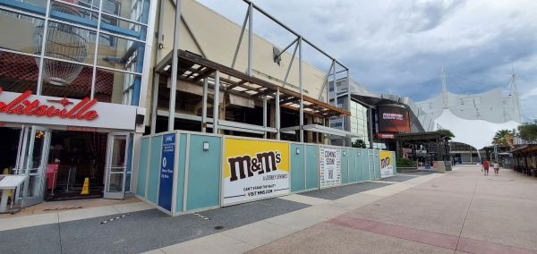 M&M Store Construction update from Disney Springs 3