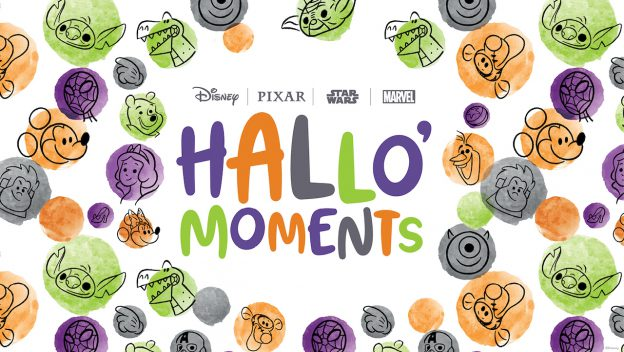 Disney celebrates Hallo'Moments all month long- Disney dance party, tutorials and more!