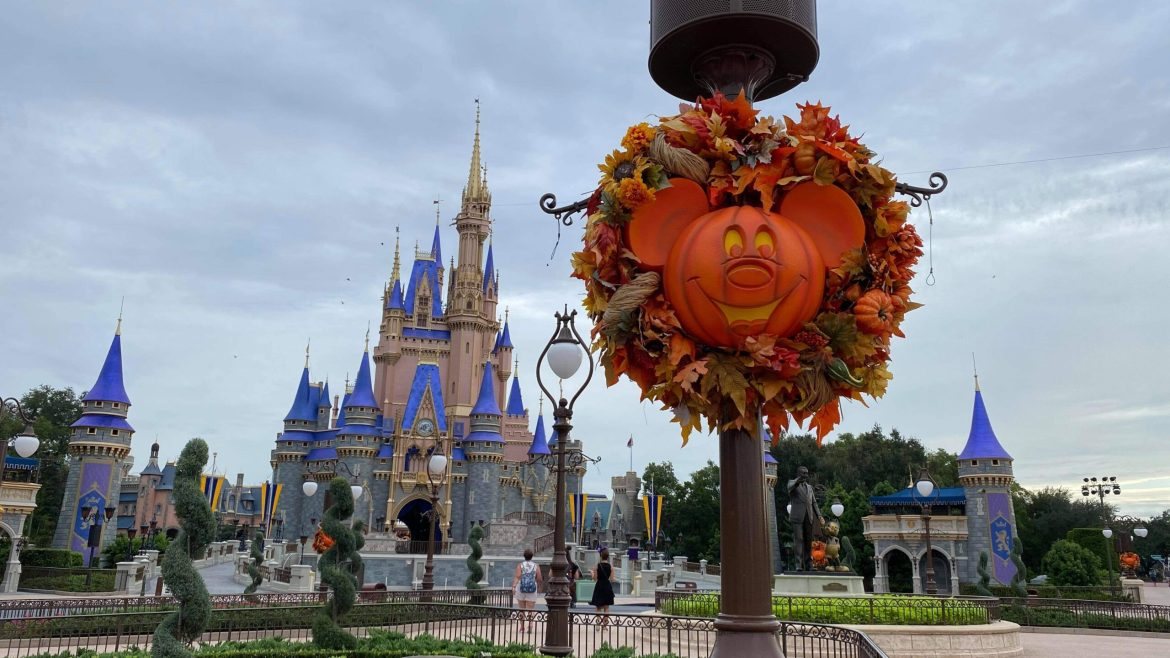 Fall has arrived at Disney's Magic Kingdom