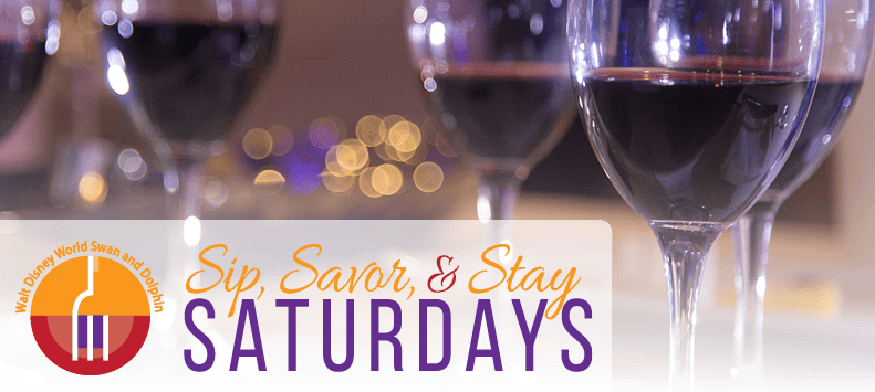 Sip, Savor, and Stay Saturdays Menus Released from Walt Disney World's Swan And Dolphin