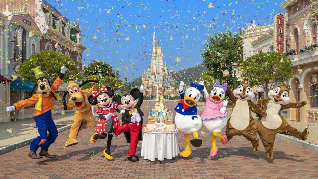 Hong Kong Disneyland Officially Reopening on September 25th