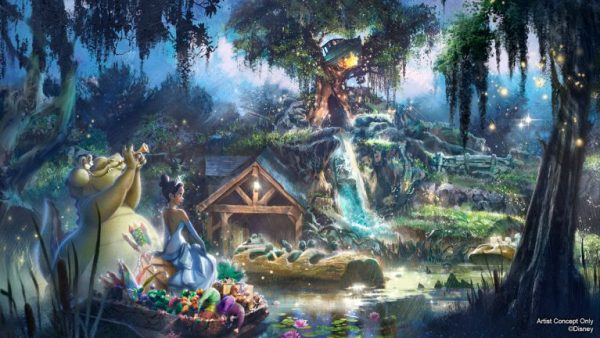 Disneyland Attraction Lineup over the next few years 4