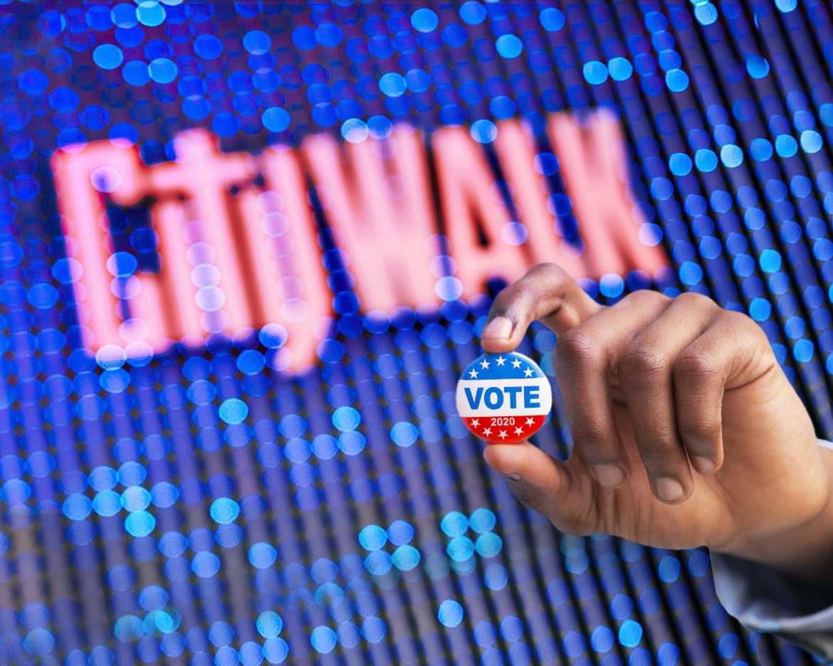 Universal Citywalk Hollywood to Serve as an Official Voting Center